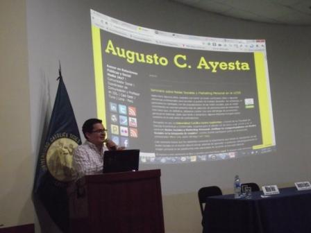 Augusto ayesta redes sociales marketing personal ponencia