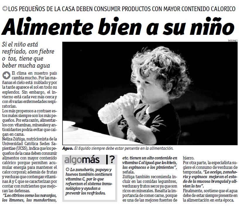 Diario Ojo 24-05-2013 nutricion