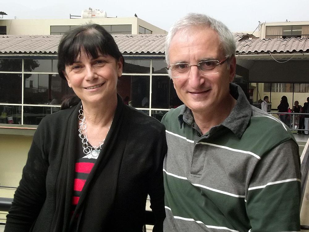 Serena Cadoni y Roberto Pinna