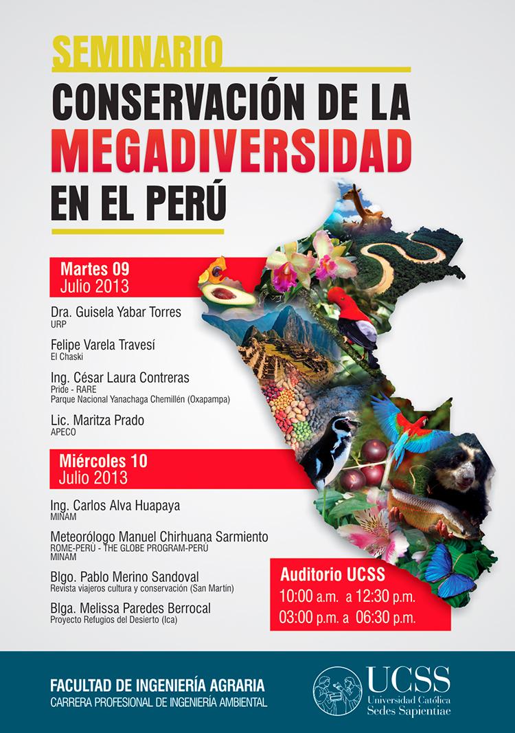 Afiche Megadiversidad FIA