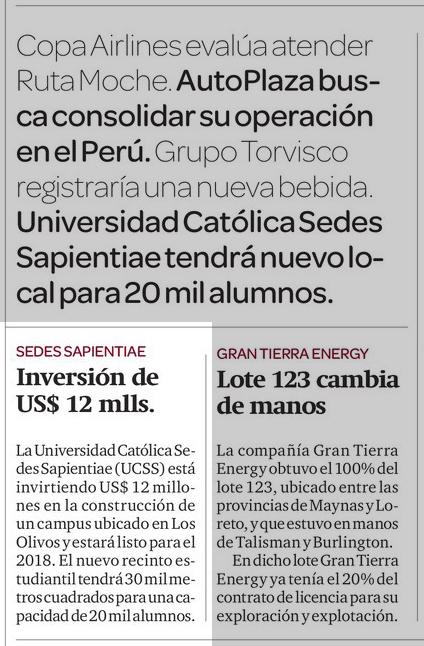 Gestion 19082013 Nuevo Campus UCSS
