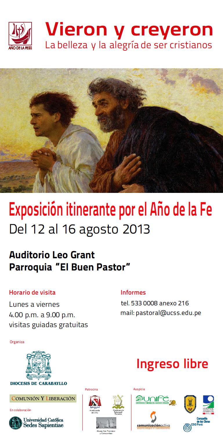 Afiche-Vieron-y-Creyeron-Buen-Pastor-Agosto-2013