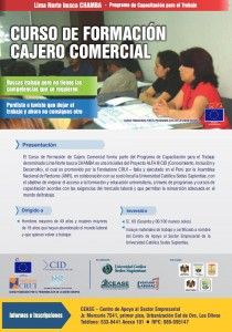 Curso Formacion Cajero Comercial Set 2013