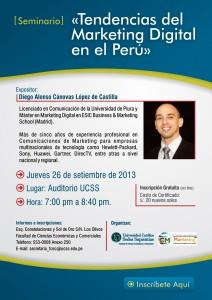 Seminario de Marketing Digital en el Perú