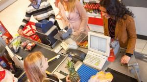 cajero supermercado