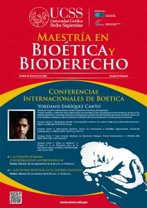 Conferencias Internacionales de Bioética 2013
