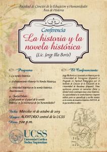 Conferencia Novela Historia Jorge Illa