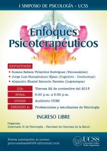 Afiche I simposio psicologia