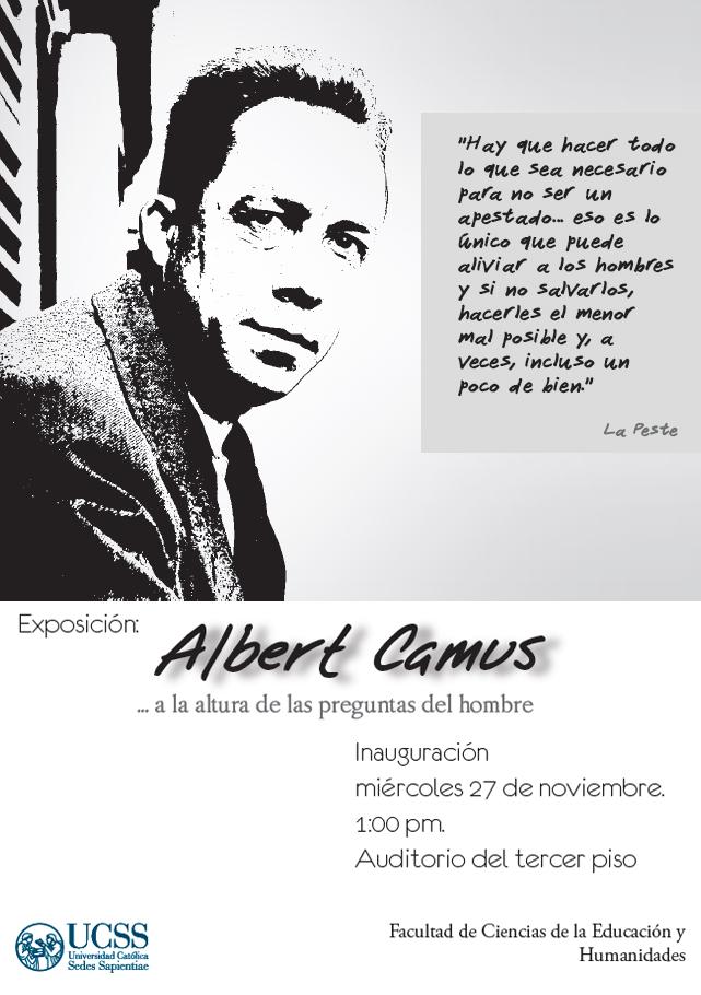Albert Camus - Exposición