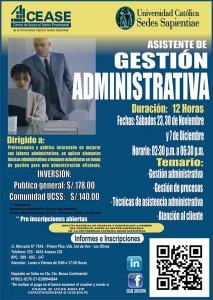 CEASE Gestion Administrativa nov dic 2013