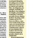 Lucrecio en el Perú (La República 18/01/2014)