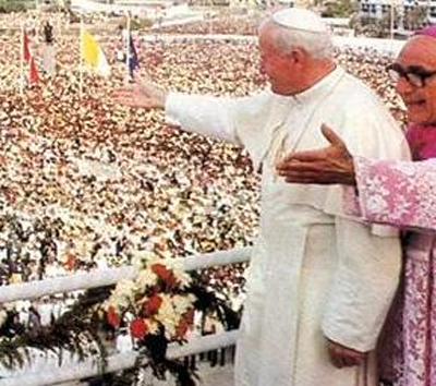 Juan Pablo II en el Peru