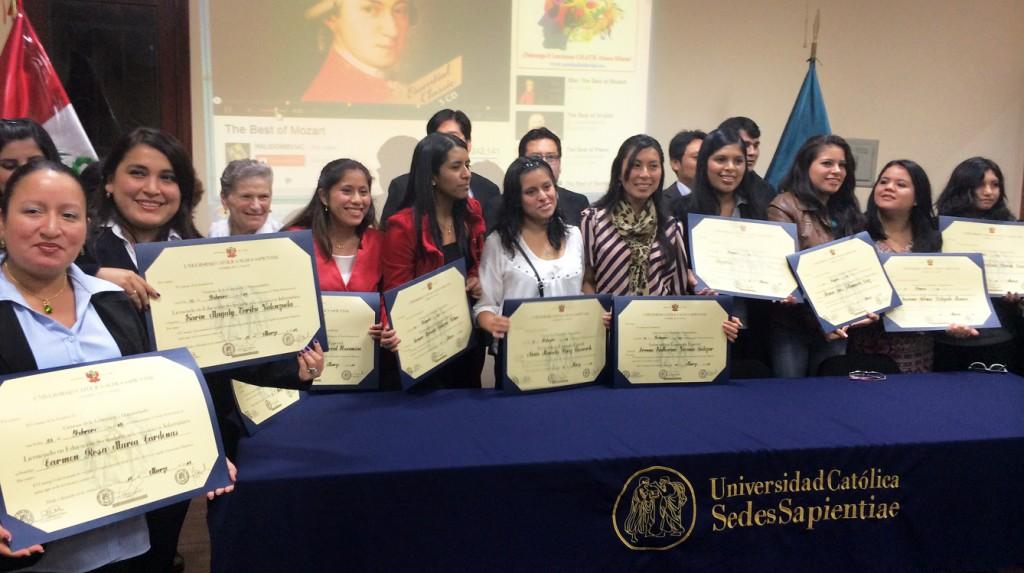 Ceremonia de Licenciatura por la Facultad de Ciencias de la EDUCACIÓN