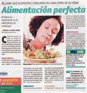 Alimentación PERFECTA (Ojo 15/07/2014)