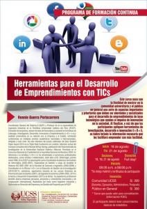 HERRAMIENTAS PARA EL DESARROLLO DE EMPRENDIMIENTOS CON TICS