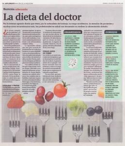 """""""La dieta del Doctor"""" (El Comercio, 03/10/2014)"""