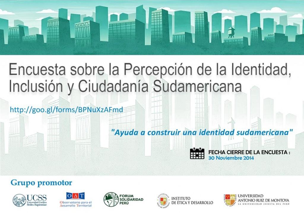 encuesta inclusion ciudadania sudamericana