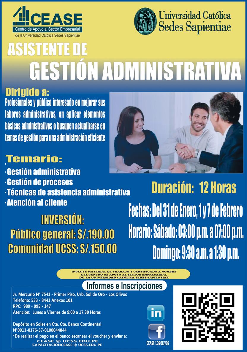 Cursos administrativos