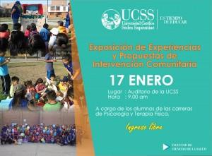 Comunitaria salud UCSS 2014