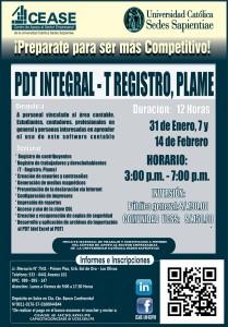 PDT INTEGRAL 2015