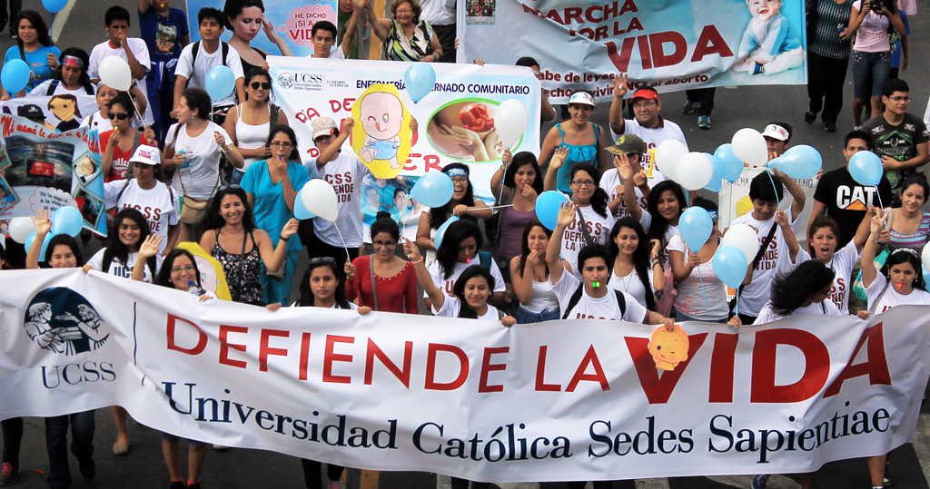 Marcha por la Vida 2015 - UCSS