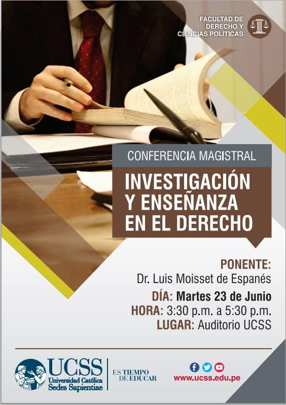 Derecho - investigación y enseñanza en el Derecho 23-06-2015