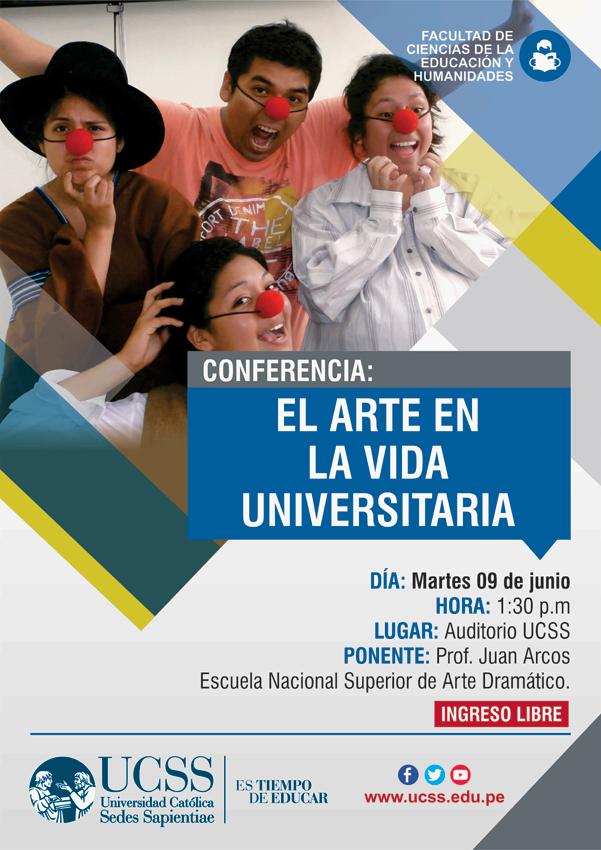 Educación - El arte en la vida universitaria 09-06-2015