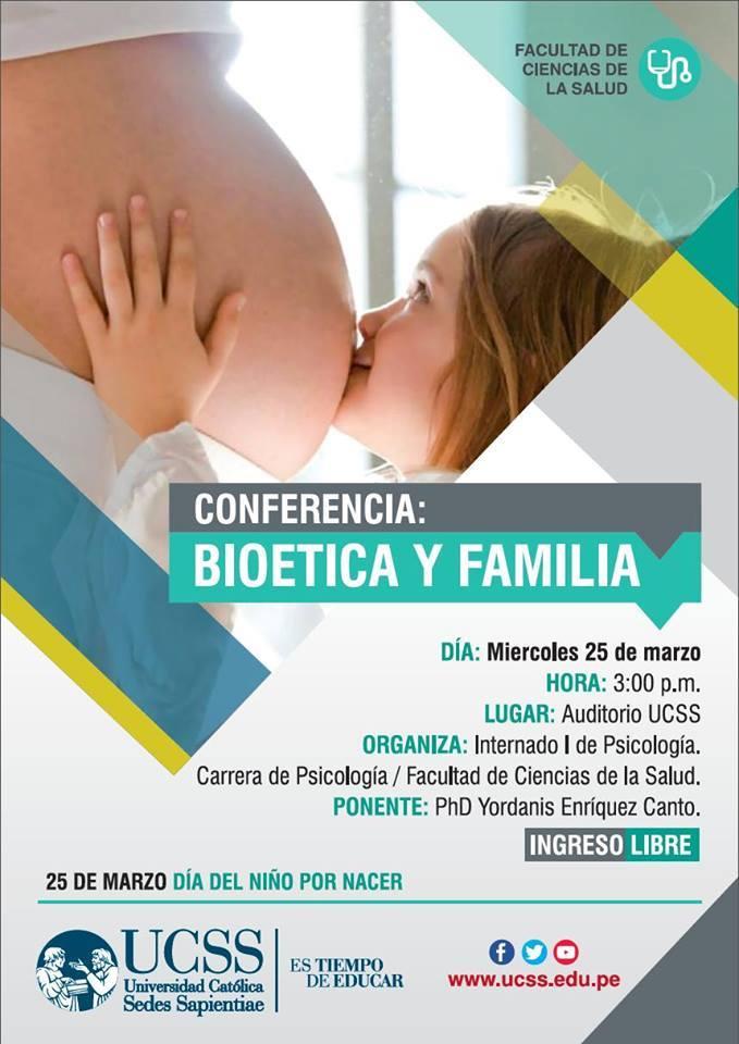 Psicología - Bioética y Familia 25-03-2015