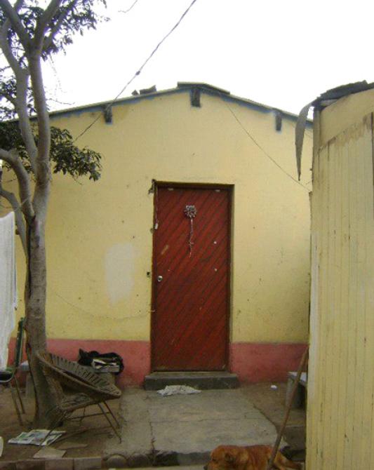 Che-Guevara-Lima - habitacion