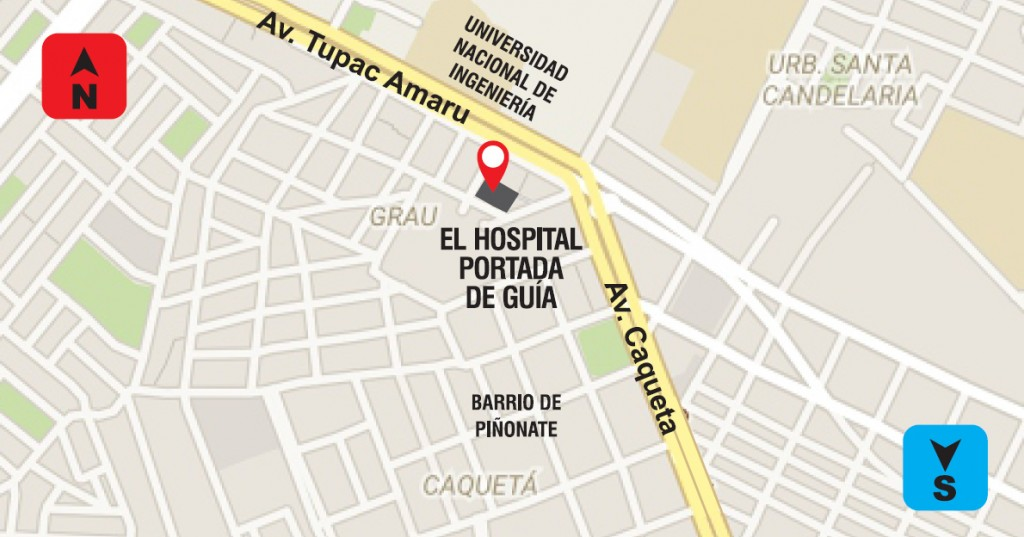 Che-Guevara-Lima - ubicacion hospital