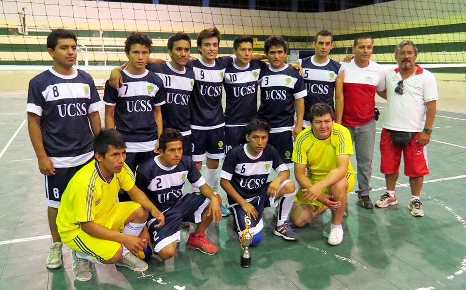 UCSS Nueva Cajamarca - Campeones Regionales - Voley masculino