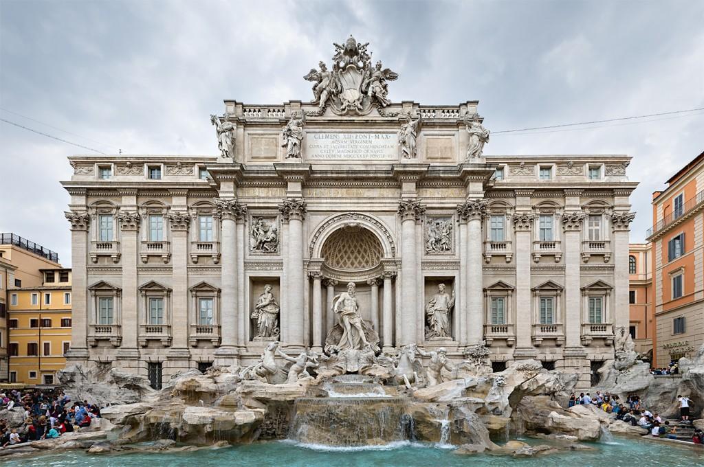 Italia - Fontana Trevi