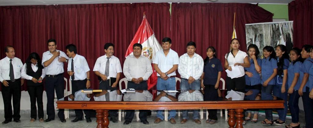 UCSS Nueva Cajamarca - educación escolar - convenio