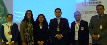 Jornada juvenil del Ministerio de Trabajo en la UCSS