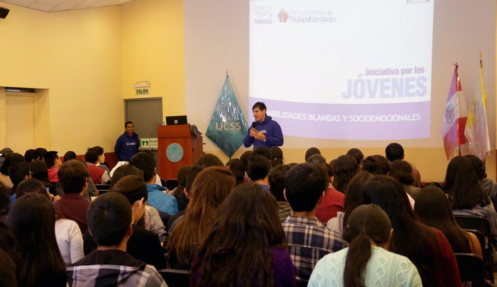 Taller de Habilidades Blandas y  Socioemocionales – Programa iniciativa por los jóvenes de Nestle