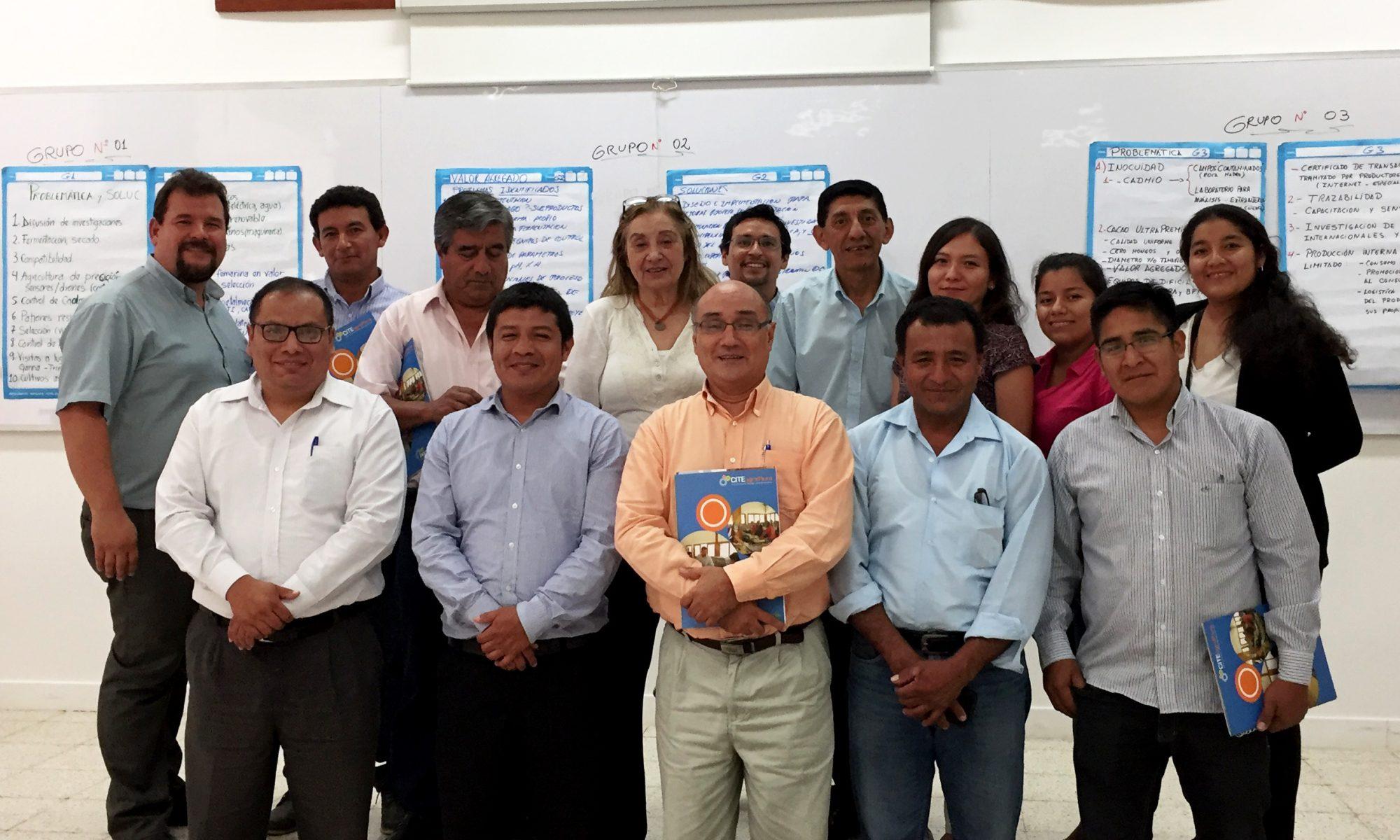 Identificación de líneas de investigación y desarrollo tecnológico en la cadena productiva de cacao y chocolate - asistentes al evento