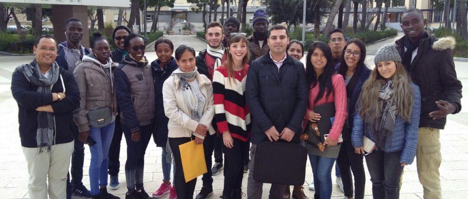 Alumnos programa COME IN UNIBA