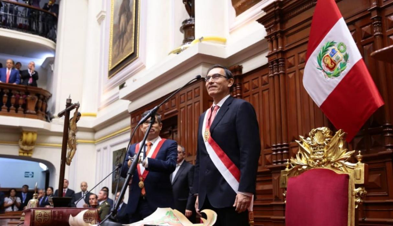 Martin Vizcarra presidente 2018