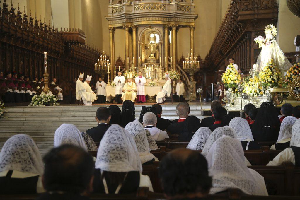 Misa de PASCUA de RESURRECCIÓN en la CATEDRAL - Imagen: Arzobispado de Lima
