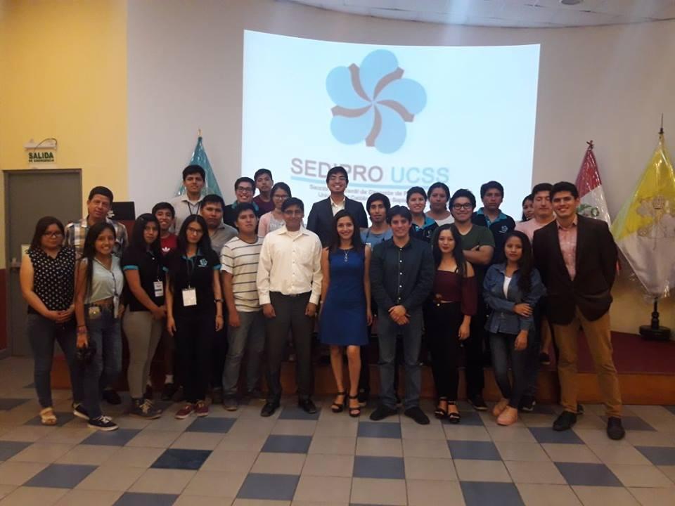 Primer Ciclo de Conferencias SEDIPRO UCSS-equipo