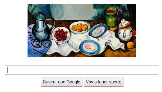 Doodle Google Paul Cézanne