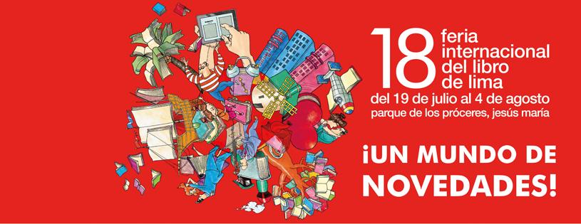 Banner Feria Internacinal del Libro de Lima