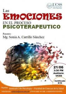 Las emociones en el proceso psicoterapeutico 21-06-2013