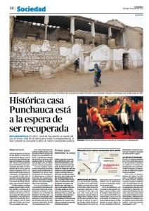 La República 28-07-2013 pag 28 Punchauca