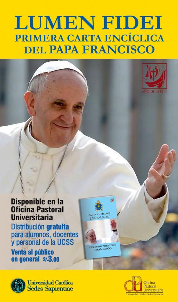 banner enciclica papa francisco