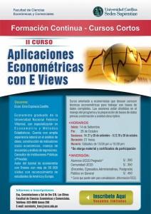 II curso Aplicaciones Econométricas con EVIEWS - FCEC