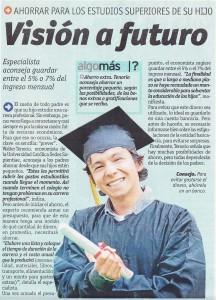 VISIÓN A FUTURO (Diario OJO 14/10/2013)