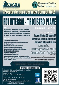 CEASE PDT INTEGRAL - T REGISTRO PLAME