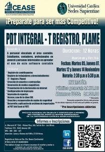 CEASE PDT INTEGRAL - T REGISTRO PLAME