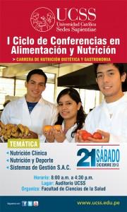 BANNER I Ciclo Conferencias ALIMENTACIÓN y NUTRICION